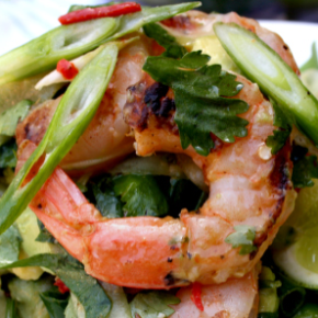 RECIPE: Chilli Lime Prawn Salad